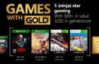 Les Games With Gold du mois de février