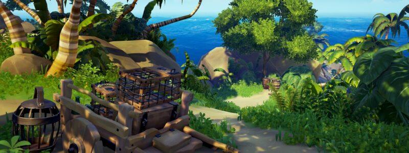 Sea of Thieves – Carte et liste des îles, régions et avant-postes