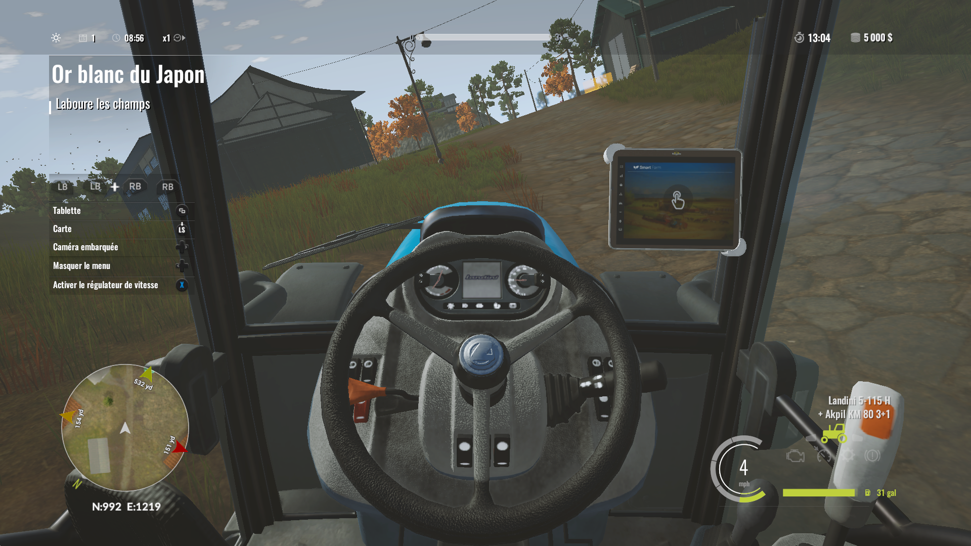 Je suis au volant