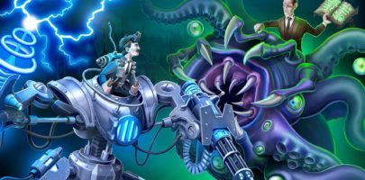 Test – Tesla vs Lovecraft, un shooter bien nerveux