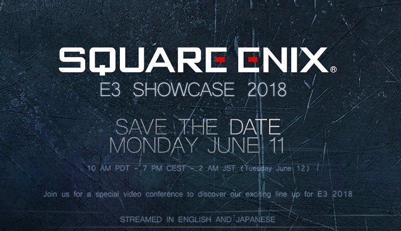 Conférence Square Enix E3 2018
