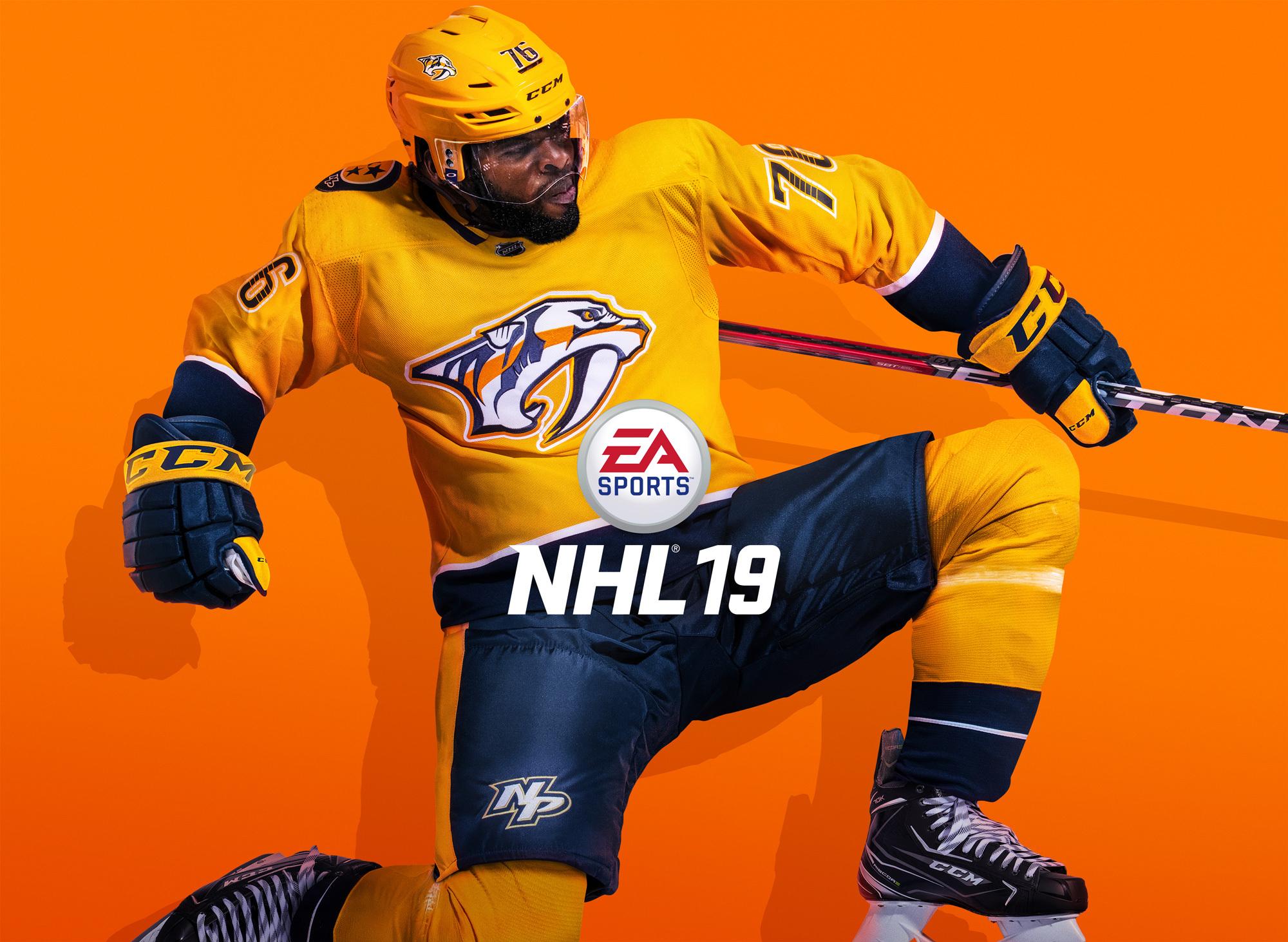 NHL 19 - La patinoire prend l'air frais de l'extérieur à