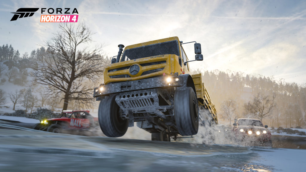 Forza Horizon 4 Winter Trucks