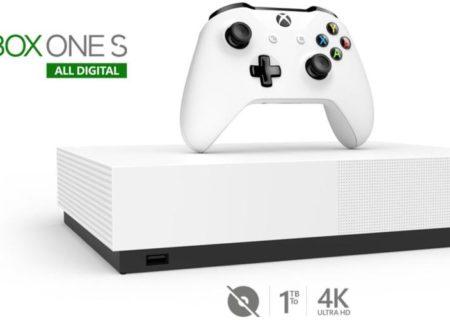 Xbox One S All-Digital Edition : ouverture des pré-commandes en exclu Fnac pour 15 jours !