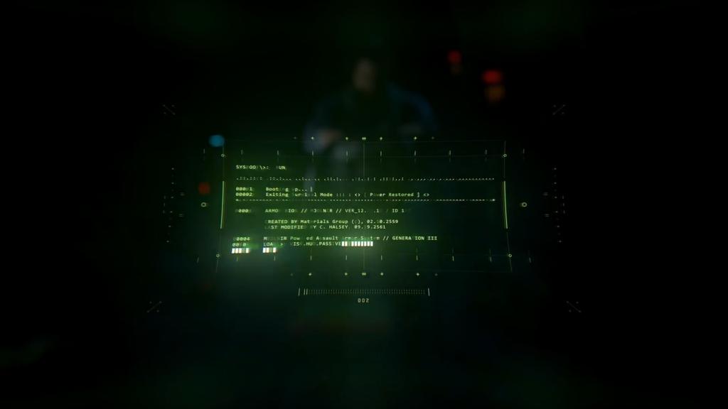 Halo Infinite - Master Chief HUD sur le casque