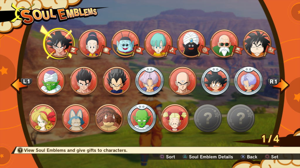 dragon-ball-kakarot-selection-personnages