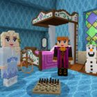 La Reine des Neiges II s'invite dans Minecraft !