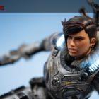 Superbe figurine de Kait Diaz, l'héroïne de Gears 5 par First4Figures