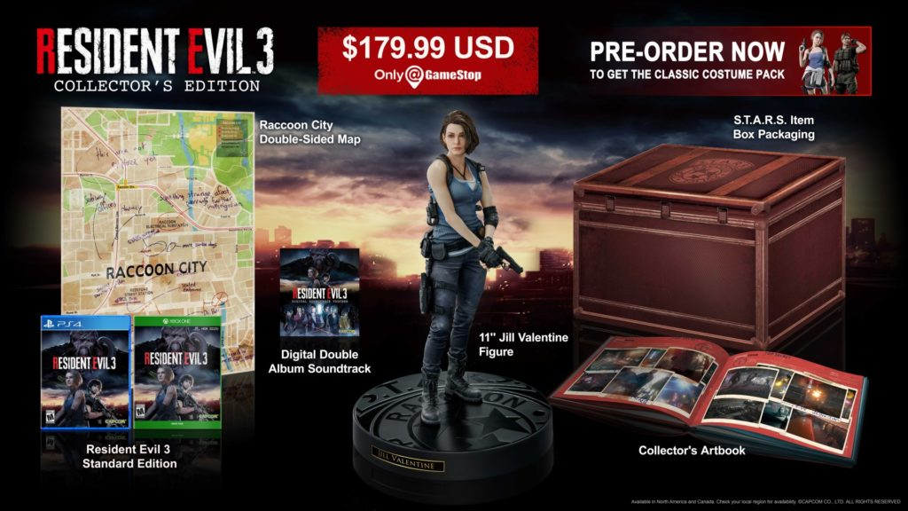 Resident-evil-3-Remake-collector-edition