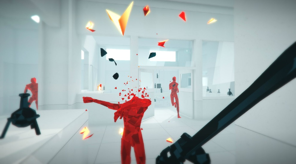 SUPERHOT-Gameplay