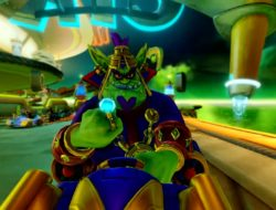 Crash Team Racing Nitro Fueled : Le Grand Prix de Gasmoxia se dévoile