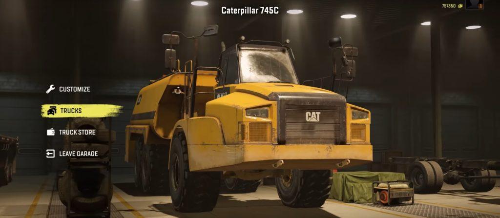 SnowRunner-Caterpillar-745C