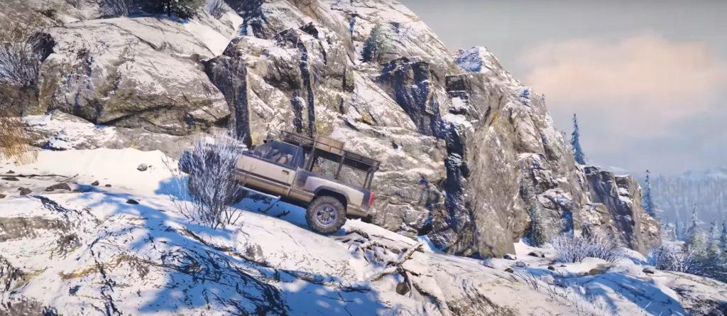 SnowRunner-Franchissement-Montagne-4X4