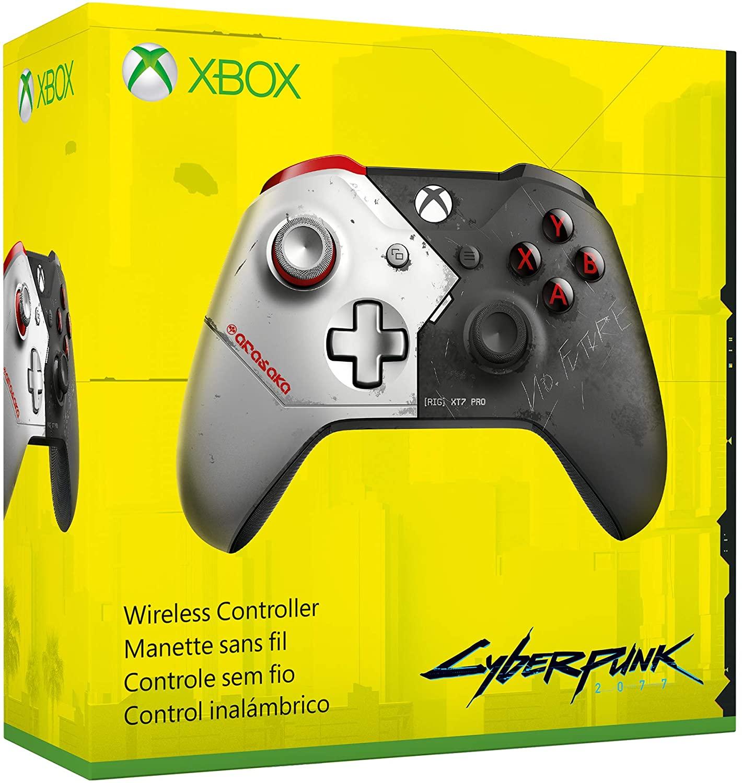 Le design d'une manette Xbox spéciale Cyberpunk 2077 fuite sur Amazon