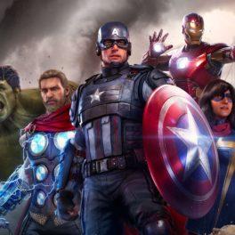 Marvels Avengers l'équipe des superhéros