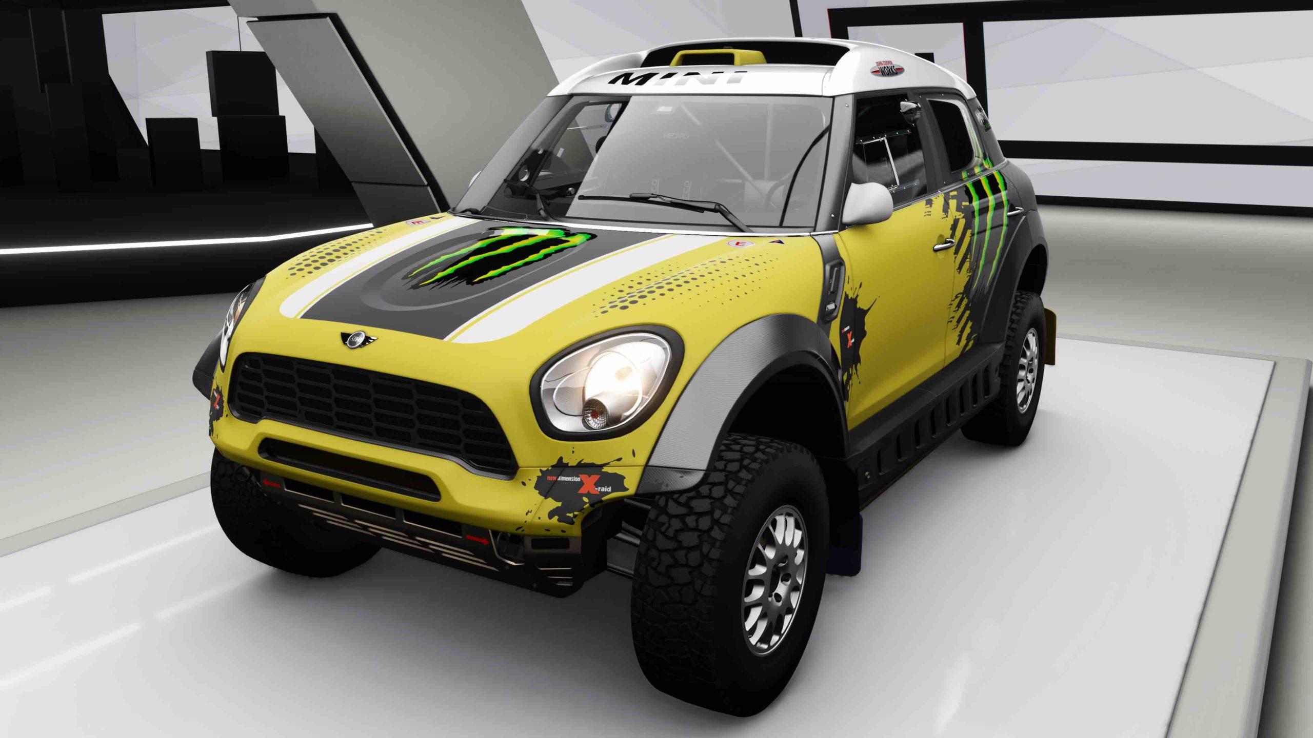 Forza-Horizon-4-Mini-X-Raid-All4-Racing-Countryman