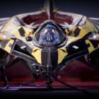 Cygni : All guns blazing - Gros plan d'un vaisseauaisseau