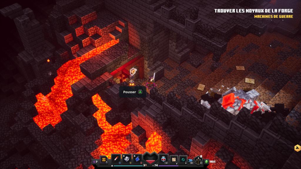 Minecraft-dungeons-rune-forge-ardente