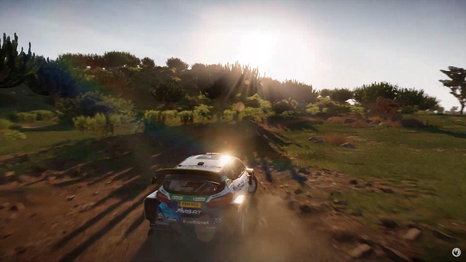 WRC-9-Gameplay-Trailer-Safari-Rally-Course-Ford-Fiesta