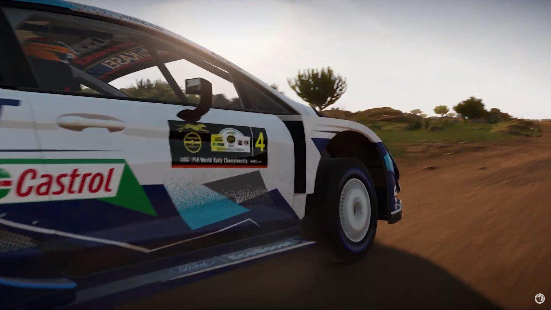 WRC-9-Gameplay-Trailer-Safari-Rally-Ford-Fiesta-Vue-Latérale