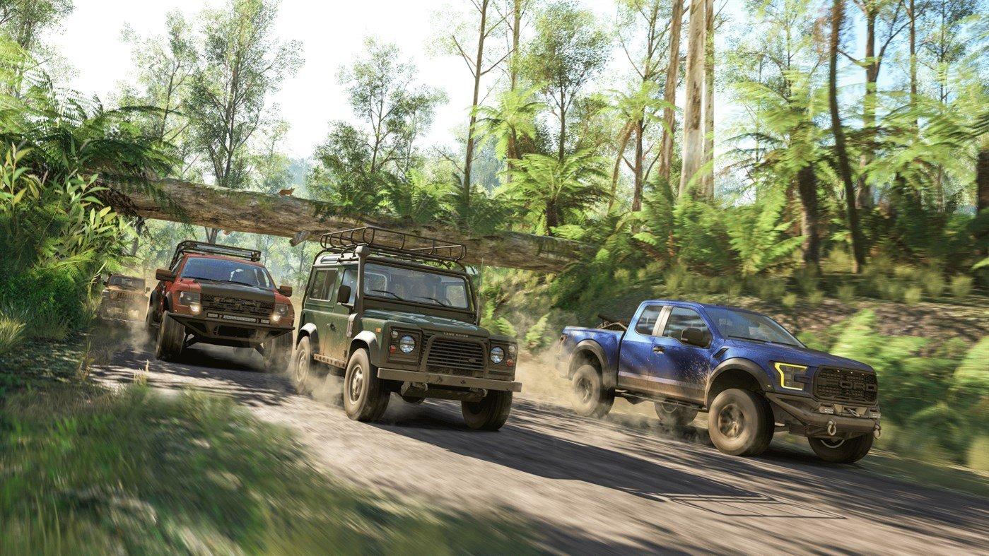 Forza-Horizon-3-4X4-Travers-Forêt-Australienne