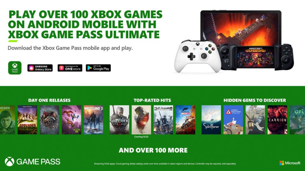Project-xCloud-Intégration-Xbox-Game-Pass-Ultimate