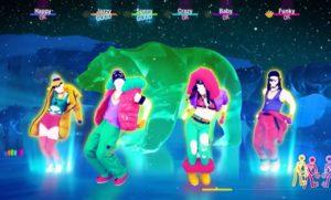 Image de danseurs dans le jeu Just Dance 2021