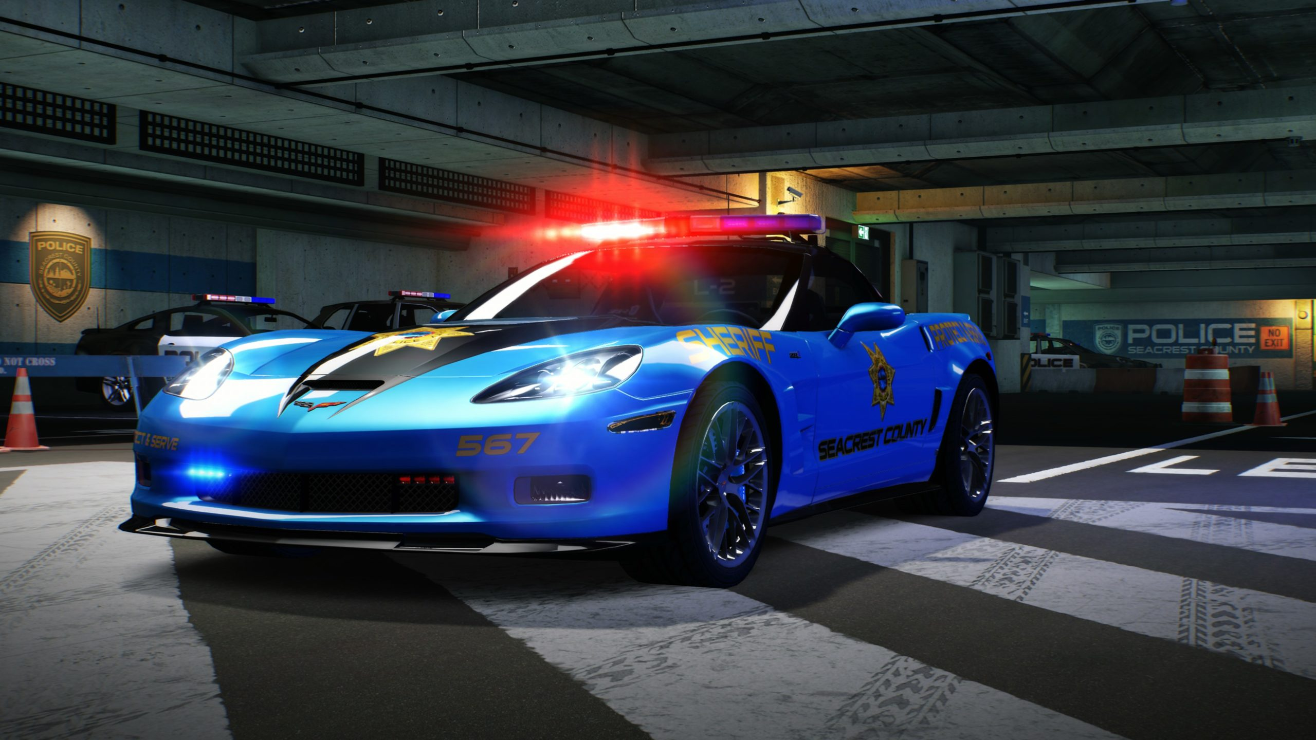 Need-For-Speed-Hot-Pursuit-Remastered-Chevrolet-Corvette-ZR1-Flics
