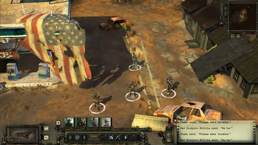 Wasteland-II-gameplay