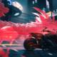 Cyberpunk - V sur une moto