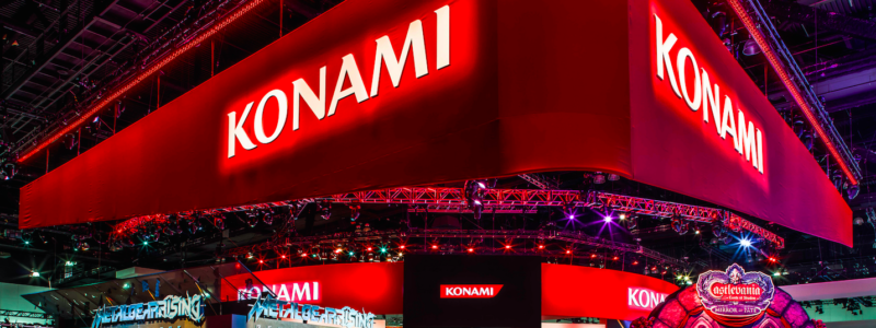 Konami-Stand-Salon