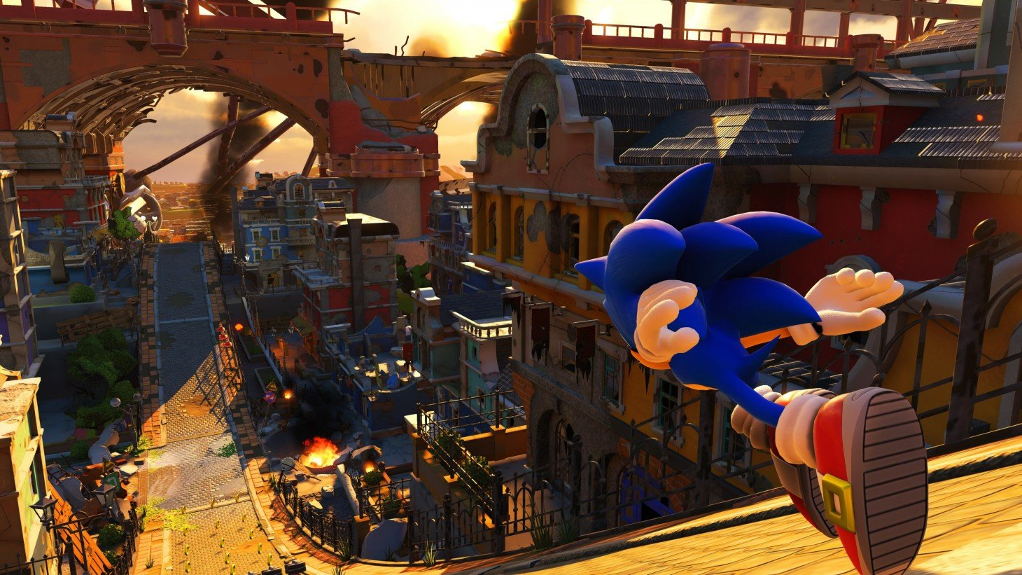 Screenshot di Sonic Force
