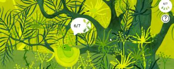 Test – Under Leaves, Charlie dans la nature