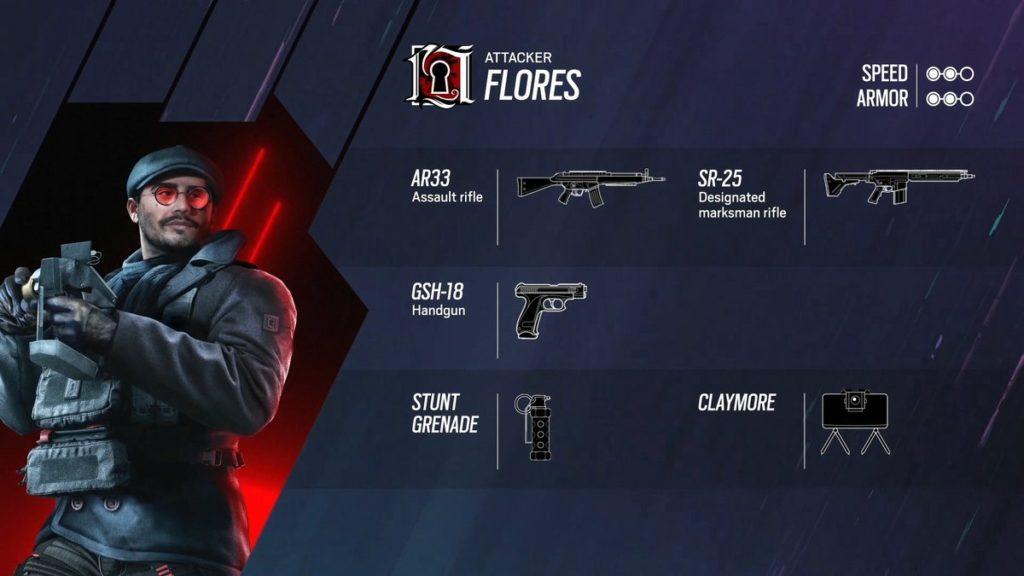 Flores est le nouvel agent des Rainbow
