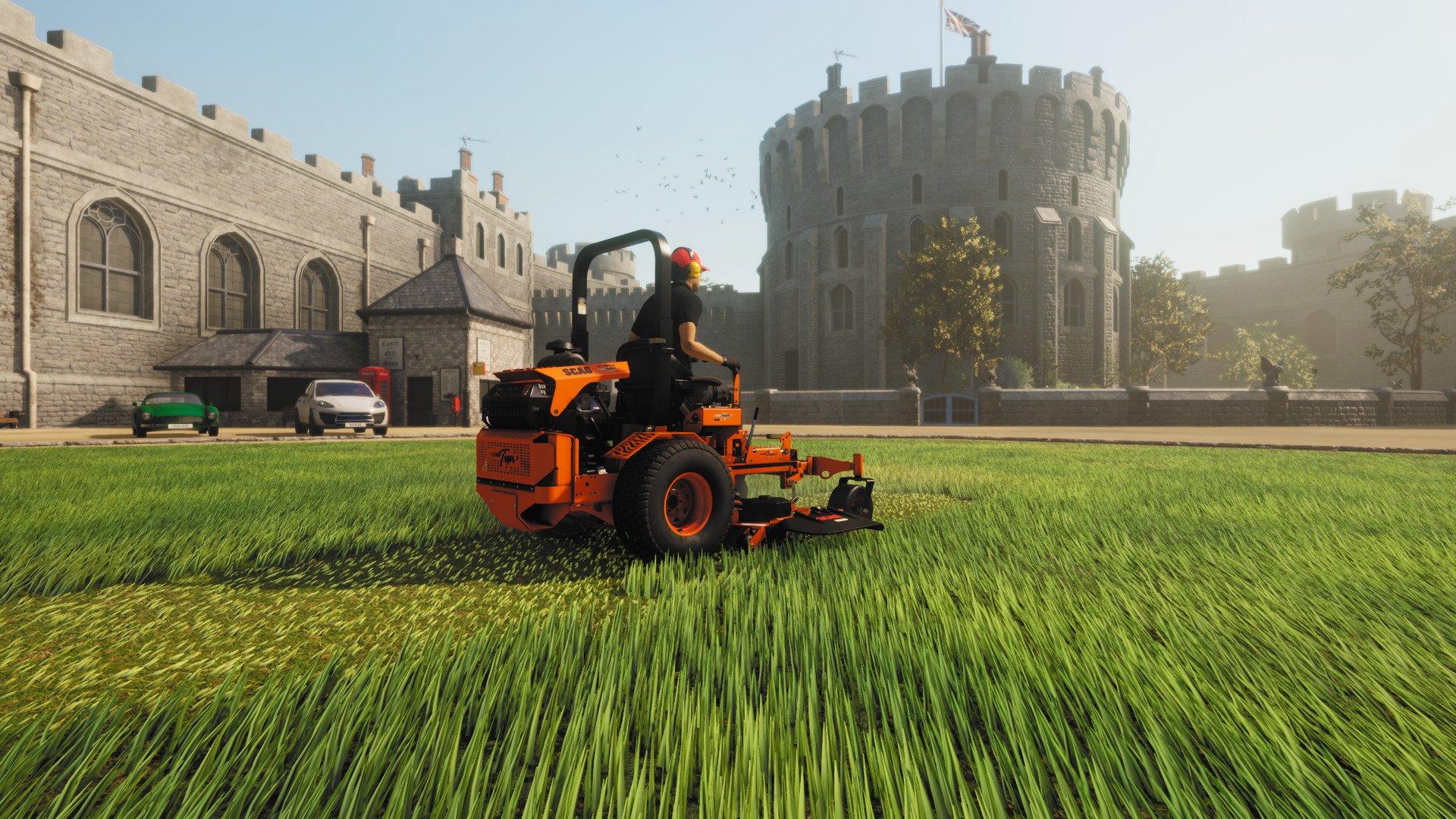 Lawn-Mowing-Simulator-Gameplay