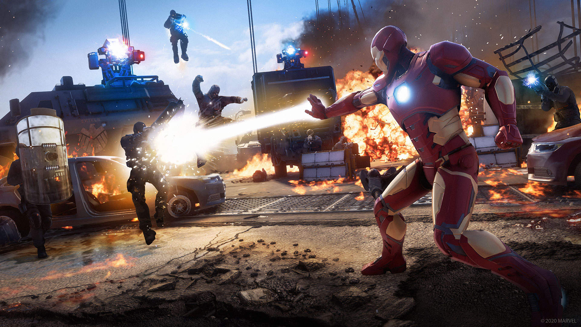 Marvel-Avengers-Combat-Iron-Man-Debut game