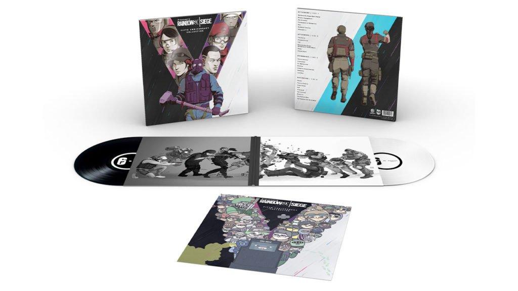 Double vinyle collector de Rainbow SIx Siege