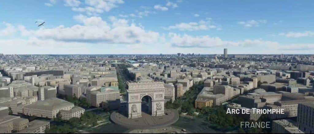 Microsoft-Flight-Simulator-World-Update-4-France-Benelux-Arc-Triomphe