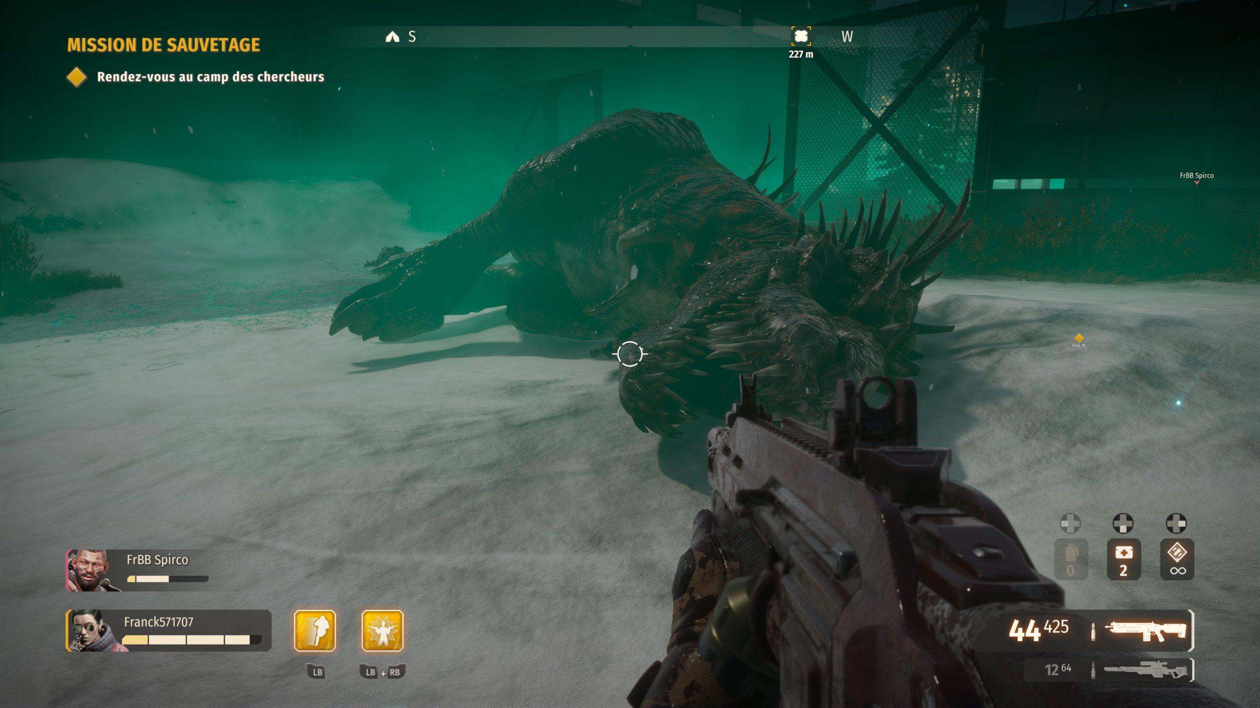Second-Extinction-Gameplay-Toundra-Trex-Abattu