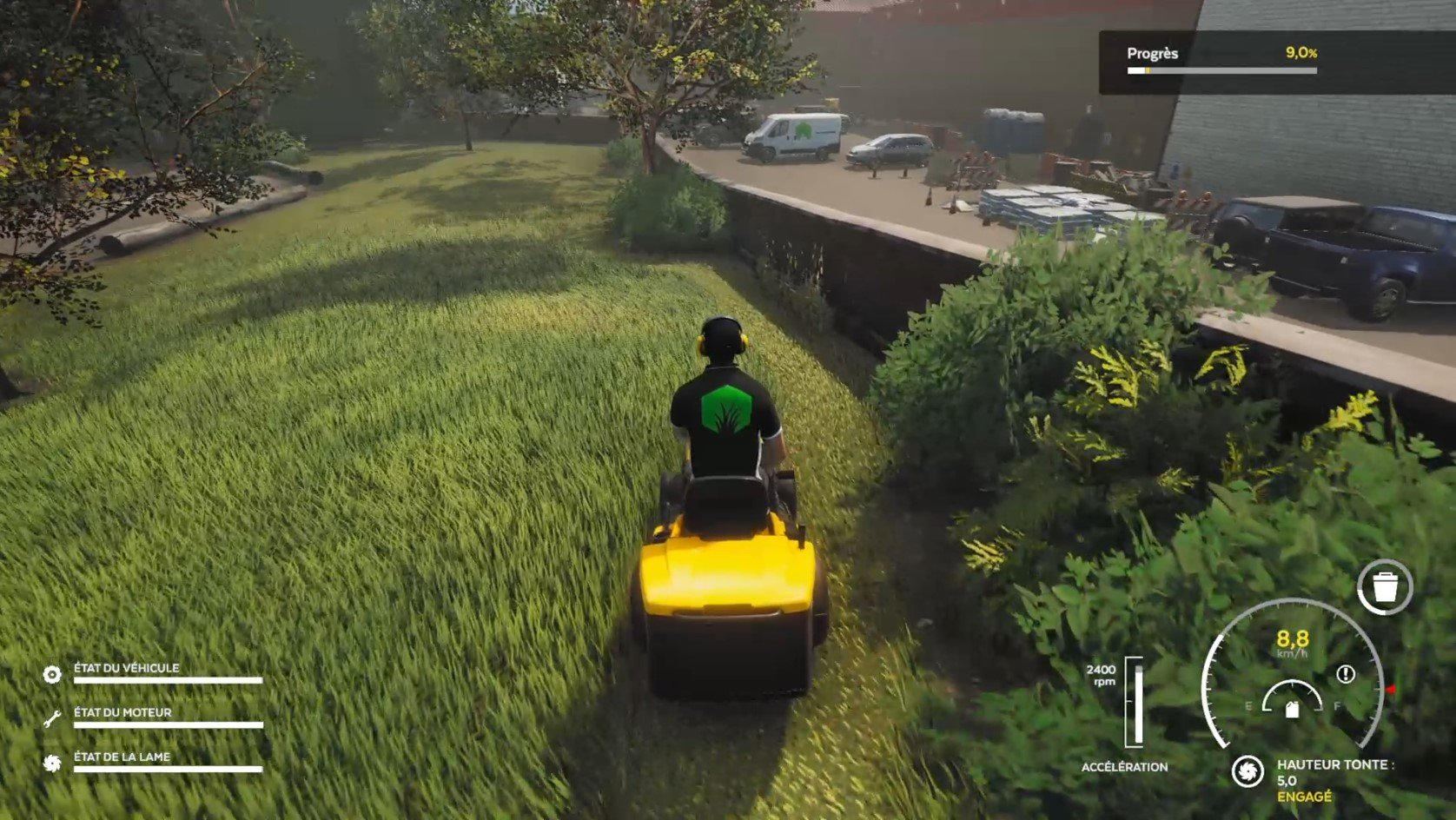 Lawn-Mowing-Simulator-Carrière-Gameplay-4
