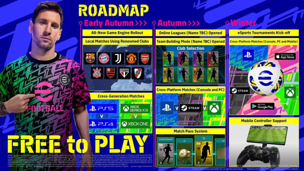 roadmap-efootball