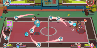 Dodgeball-Academia-Gameplay