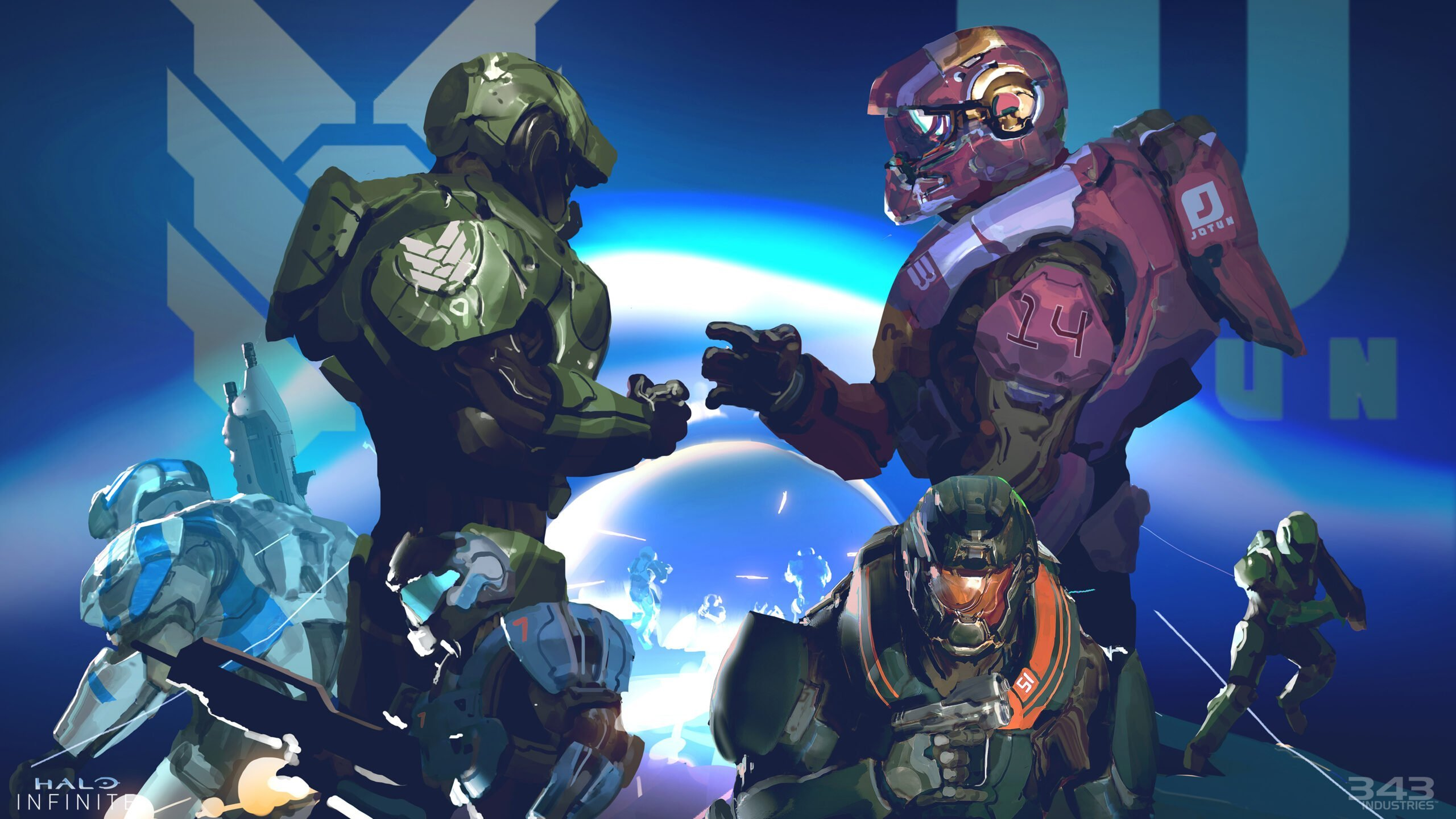 Halo Infinite: The Squad's tackle the newest flight check
