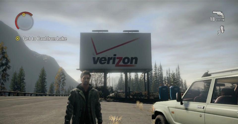 Alan Wake Logo Verizon