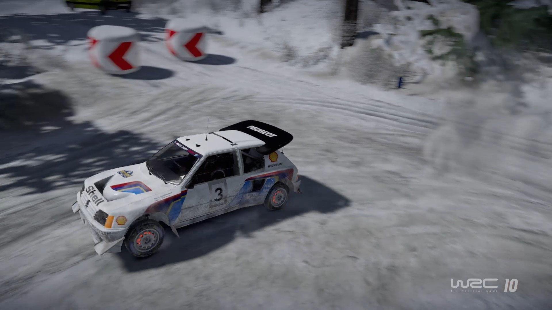 WRC-10-Gameplay-Suède-Peugeot-205-T16-11